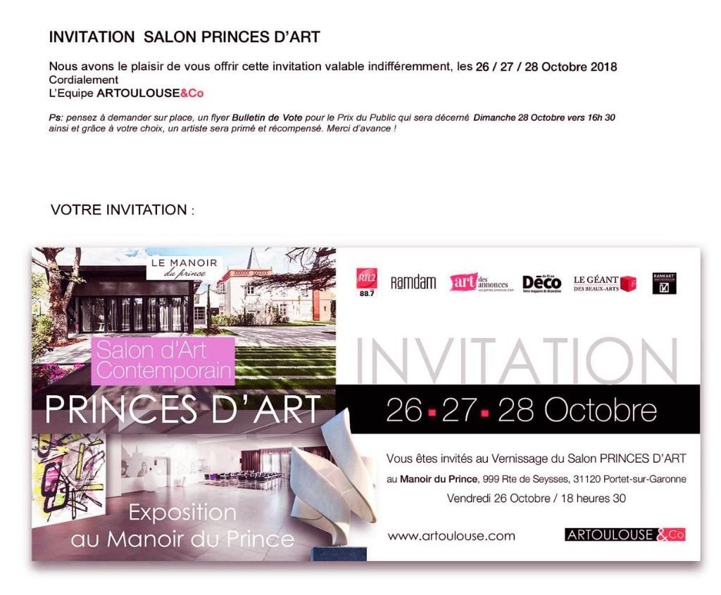 INVIT-Salon PRINCESD'ART